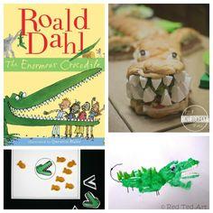 roald+dahl+day+enormous+crocodile+crafts.jpg (600×600)