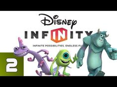Disney Infinity: Monsters University - Part 2 (Walkthrough, Lets Play, Commentary) - YouTube
