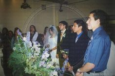 the first ever wedding in the UK was carried out. Brother Juan Espinoza And Sister Mavi Curiel.