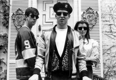 Ferris(Matthew Broderick), Cameron(Alan Ruck), and Sloane(Mia Sara). Ferris Bueller, Alan Ruck, 80s Movies, Great Movies, Movie Tv, 1980s Films, Excellent Movies, Awesome Movies, Movies Showing