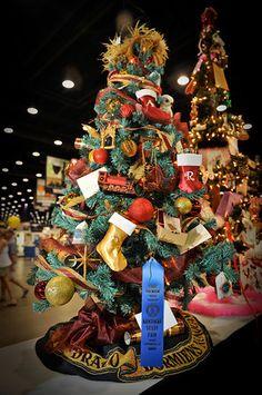 My Harry Potter Christmas tree