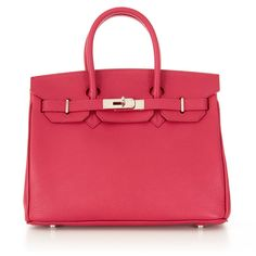 Classic Caty Fuchsia Leather- Spring 2016 Collection!