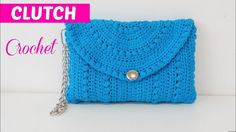 Step by Step Crochet Clutch - YouTube