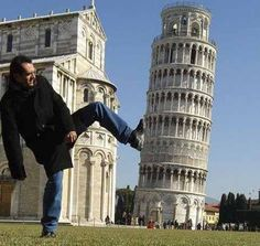 Kicking the Leaning Tower of Pisa