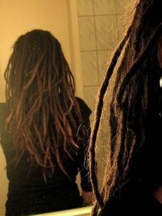 I hope for my dreads to look like this one day!