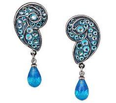 Kirks Folly Divine Nautilus Clip Earrings