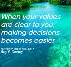 Making Decisions quote via www.facebook.com/WomenInspireNetwork