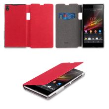 Made for Xperia Leder Tasche Xperia - Flip Cover Monza Rot € Sony Xperia, Fundas Samsung Galaxy S4, Smartphone, Tablets, Cover, Charger, Capes, Mobile Cases, Drum Kit