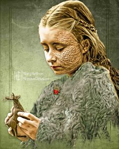 Shireen | Game of Thrones - by Hilary Heffron, Hilarious Delusions