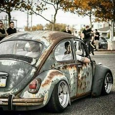 👌 Air cooled is Life ♥️ Hoodride Beetle 👌 Air cooled is Life ♥️ Rat rod More More Vintage Cars Hot Rods and Kustoms More Vintage Cars Hot Rods and Kustoms Kustomblr Kust. Jetta A4, Combi T2, Vw R32, Vw Rat Rod, T3 Vw, Vw Camping, Kdf Wagen, Rat Look, Gas Monkey Garage