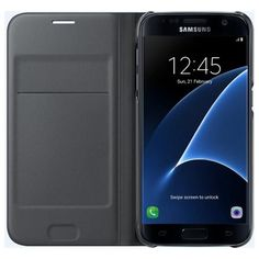 Official Samsung Galaxy S7 Flip Wallet Case at a great price from Buytec.co.uk!
