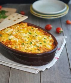 Roasted Cauliflower, Tomato and Goat Cheese Casserole