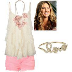 summer - pink shorts