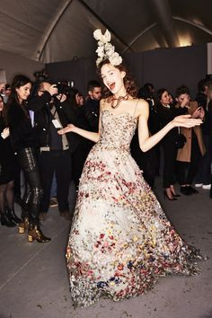 Sonny Vandevelde - Christian Dior SS17 Haute Couture Show Paris Backstage