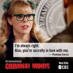 Garcia and Morgan <3  Criminal Minds  #Shemar #Penelope #TV