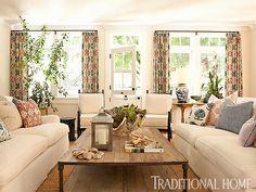 """<p>2013 New Trad designer Taylor Borsari gives this vacation home a """"hip granny"""" vibe</p>"""