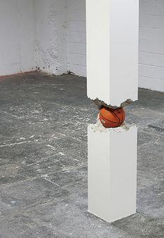 """Shan Hur, """"Ball in the Pillar""""."""
