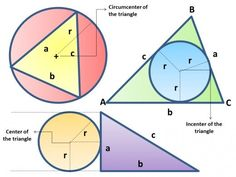 Solving problems related to plane geometry especially circles and triangles can be easily solved using a calculator. Here is a comprehensive set of calculator techniques for circles and triangles in plane geometry. Engineering Boards, Geometry Questions, Differential Calculus, Plane Geometry, Area Of A Circle, Geometry Problems, Pythagorean Theorem