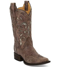Corral Pasadena Square Toe Cowboy Boot - Women's Shoes | Buckle