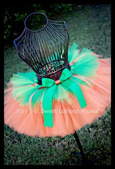 Pumpkin Tutu, the new and improved pumpkin costume