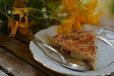 Pastel vasco relleno de cerezas, exuisito!! #foodporn #postres #dessert #cherry #cerezas http://www.tererecetas.com/2016/06/receta-facil-pastel-vasco-con-cerezas.html