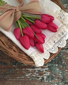 """J'aime les tulipes""♡"