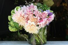 """What's your favorite flower?  """" A few of my favorites are Juliet garden roses, tree peonies, and dinner plate dahlias."""" - Stephanie Schur, Botany Flowers, 225 26th Street, Suite 41 (between San Vicente Boulevard and Georgia Avenue); 310-394-0358."""