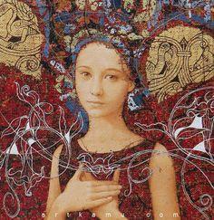 Artist Olga and Sergei Kamennoy (KAMU) Sergey is Ukrainian and Olga is Russian, born in Moscow Fantasy Kunst, Fantasy Art, Figure Painting, Painting & Drawing, Portrait Art, Portraits, Modern Art, Contemporary Art, Figurative Kunst