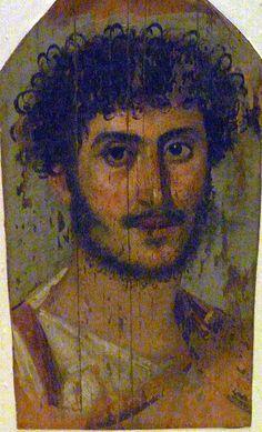 Fayoum mummy portrait 2nd CE