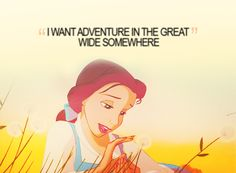 I want adventure in the great wide somewhere     found at Disney Bound via justwannabeyourprincess