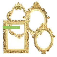 This SALE: GOLD Picture Frame Victorian Wedding Decoration GOLD is just one of the custom, handmade pieces you'll find in our centerpieces shops. Victorian Picture Frames, Large Picture Frames, Victorian Frame, Victorian Pictures, Gold Wedding Decorations, Dorm Decorations, Quince Decorations, Decoration Crafts, Flower Decorations