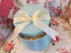 Tiffany Blue Hat Box, gift box