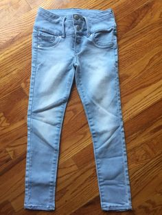 a44a96f668a06 Blue Spice Girls Jeans Size 10 High Waisted Snaps #fashion #clothing #shoes  #