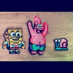Bob Esponja hama mini beads by javi_barchino