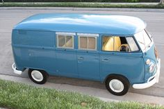 Vintage VW camper for sale.