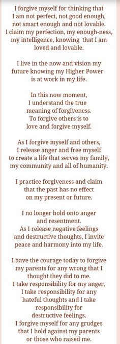 February Affirmation...Iyanla Vanzant..there is healing...a healing of self in forgiveness! For the sake of life..we have to forgive! Peace! :)