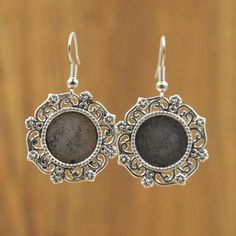 20pc/lot 14mm Antique Silver Earring Base Cabochon Setting Earring Base Metal Blanks Round Bezel Fit Jewelry Findings Y1158
