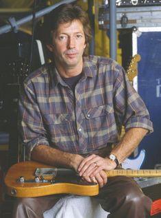 EC 1985 Duck Brother Guitar Guy, Guitar Players, Rock N Roll Music, Rock And Roll, Cream Eric Clapton, Leo Fender, The Yardbirds, Blind Faith, Best Guitarist