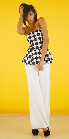 Checkered Diva Outfit