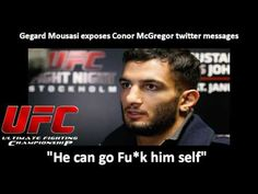 "UFC: Gegard Mousasi exposes Conor McGregor twitter messages :""He can go ..."