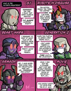 Haha,okay, they played down the G1 Megatron quite a bit. But its still hilarious! XD