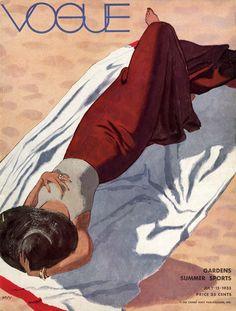Vogue July 1933 / Conde Nast ...