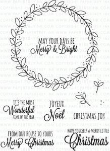 Rustic Wreath Stamp Set