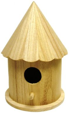 How To Build A Roof For A Round Birdhouse Garden