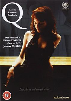 Q [DVD] Déborah Révy (Actor), Hélène Zimmer (Actor), Laurent Bouhnik (Director)  Rated: Suitable for 18 years and over  Format: DVD    122 customer reviews Price:	£5.89 & FREE Delivery in the UK on orders over £20. Details In stock. Sold by DVD Vault UK and Fulfilled by Amazon. Gift-wrap available. Want it Monday, 13 July? Order it within 21 hrs 8 mins and choose One-Day Delivery at checkout. Details 34 new from £3.94 5 used from £4.99 Amazon Instant Video Watch Q instantly from £2.49 with Amazo