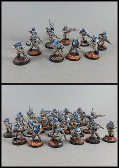 Astra Militarum / Guard Troops #warhammer #40k #wh40k #warhammer40k #40000 #wh40000 #warhammer40000 #gamesworkshop #wellofeternity #miniatures #wargaming #hobby