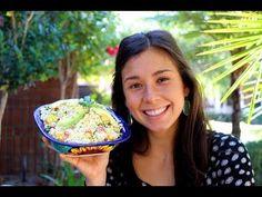 ARROZ DE COLIFLOR! - YouTube  - RECETA: 1 Coliflor Cilantro Cebollin Chile Serrano (PICANTE Chile Morron Rojo y Amarillo Aguacate Aderezo: Tahini (semillas d Sesamo Limon