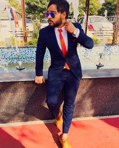 #blue #suit