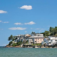 Believe it or not - this is a town called Nahant....Massachusetts - not Portugal!
