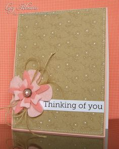 Cards / Thinking of You by Lucy Abrams, via Flickr